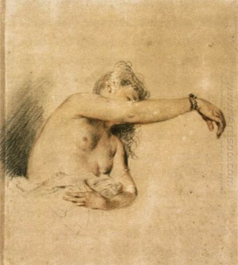 nude with right arm raised 1718