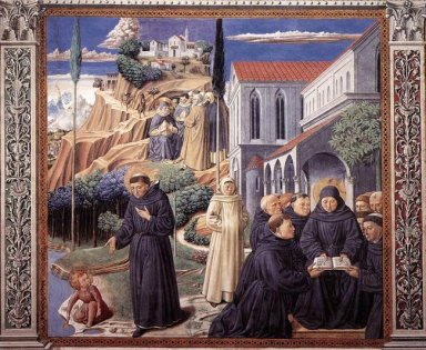 The Parable Of The Holy Trinity And The Visit To The Monks Of Mo