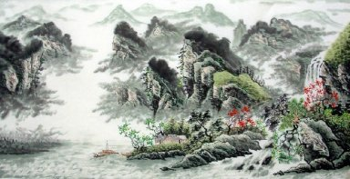 Landscape, Summer - Chinese Painting