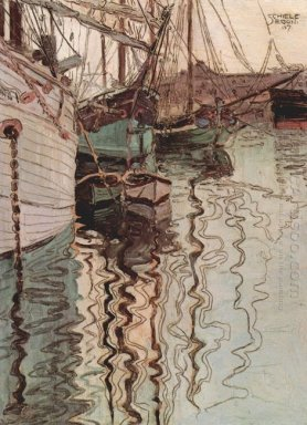 harbor of trieste 1907