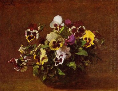 Oil Pansies