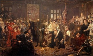 The Union Of Lublin 1869