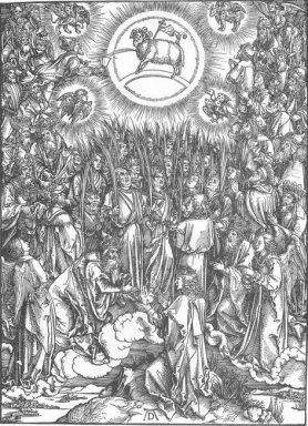 the adoration of the lamb and the hymn of the chosen 1498