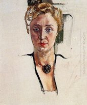 Portrait Of Anny Lewinter Frankl