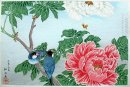 Peony and Paddy-birds