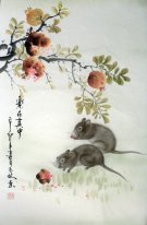 Mouse - Pittura cinese