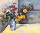 Still Life Flowers In A Vase 1888