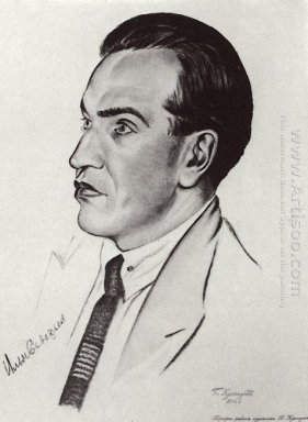 Portrait Of I I Sadofev 1926