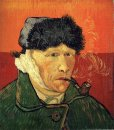 Self Portrait With Bandaged Ear 1889 1