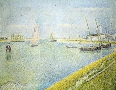 The Channel At Gravelines In The Direction Of The Sea 1890