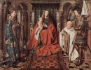 Madonna And Child With Canon Joris Van Der Paele 1436