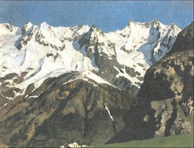 Range Of Mountains Mont Blanc 1897