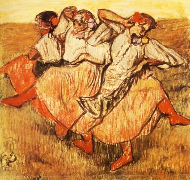 three russian dancers 1895