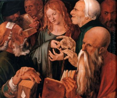 christ among the doctors 1506