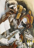 Harlequins violinists hidden