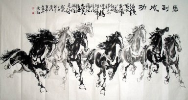 Horse-Success - Chinese Painting