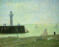 End Of The Jetty Honfleur 1886