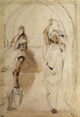 Two Women At The Well 1832