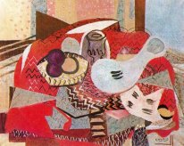 Still Life With Red Tablecloth 1934