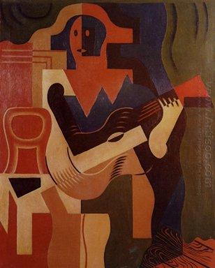 Harlequin With Guitar 1919