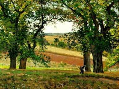 chestnut trees at osny 1873