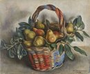 Still Life With A Basket Of Pears 1932