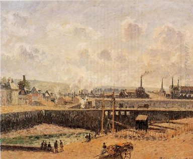dieppe dunquesne basin low tide sun morning 1902