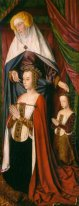 St. Anne presenting Anne of France and her daughter, Suzanne of
