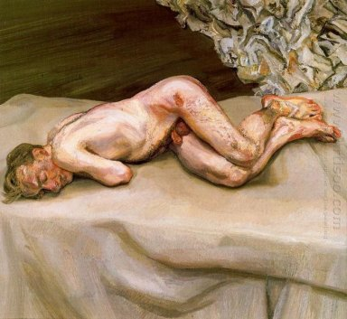 Naked Man On A Bed