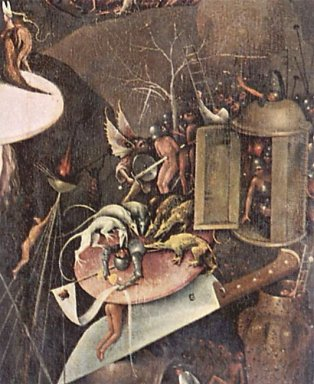The Garden Of Earthly Delights 1515 3