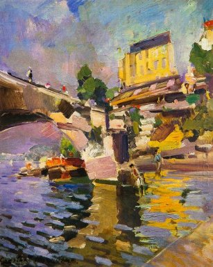 Bridge In Saint Cloud 1936