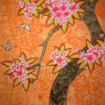 Flower&Dragonfly - Chinese Painting