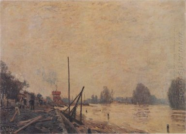the seine at suresnes 1880