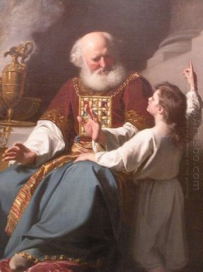 Painting Of Samuel Learning From Eli 1780