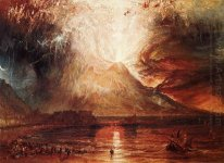 Mount Vesuvius In Eruption 1817
