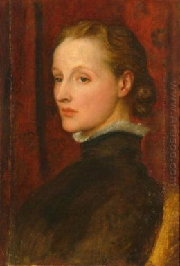 Portrait Of Mary Fraser Tytler Afterwards Mary Seton Watts 1887
