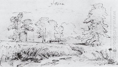The Sketch For The Painting Rye 1878