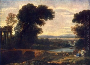 Landscape With Rest In Flight To Egypt 1666