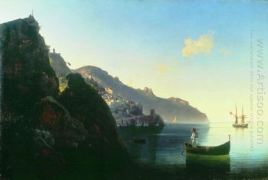 The Coast At Amalfi 1841
