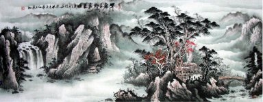 Pines - Chinese Painting