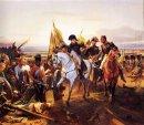 Napoleon at the battle of Friedland