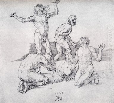 five male nudes 1526