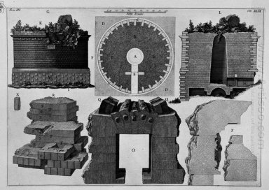 The Roman Antiquities T 3 Plate L Plan And Construction Details
