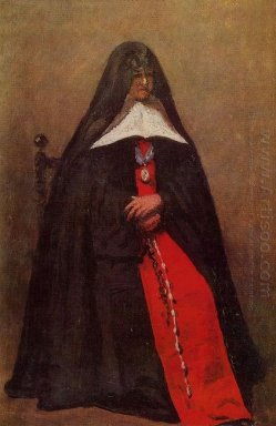 The Mother Superior Of The Convent Of The Annonciades 1855