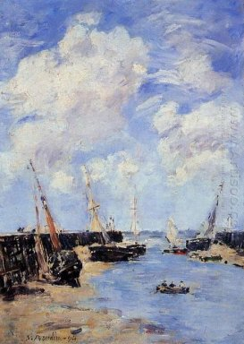 Trouville The Jettys Low Tide 1894