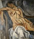 Sleeping Woman 1917