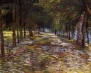 Avenue In Voyer D Argenson Park At Asnieres 1887
