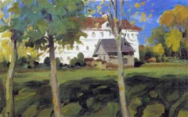 Landscape With White House