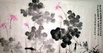 Lotus-LeiLeiXinHua - Chinese Painting
