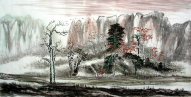 Landscape, Autumn - Chinese Painting